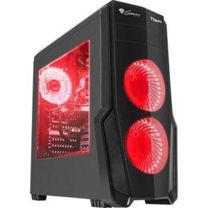 Gaming case Genesis Titan 800 Red (NPC-1128)