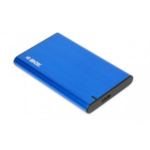 "HDD Rack i-BOX , 2.5"" IEUHDD5BL, USB 3.1 (Blue)"