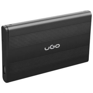 Rack HDD UGO USB 2.0 Aluminium 2.5 inch Black
