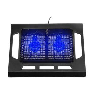"Cooler Laptop Tracer Snowflake, 15"", Negru/Albastru"