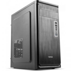 Case Midi-Tower Natec Armadillo, black