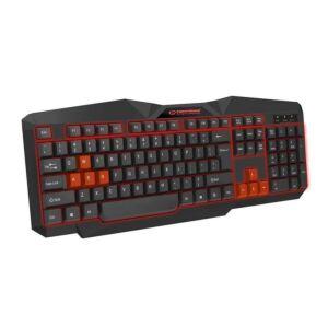 Keyboard Gaming Esperanza EGK201R Tirions Negru / Rosu