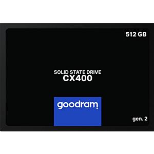 Solid State Drive (SSD) Goodram CX400 gen.2, 512GB, 2.5 SATA III